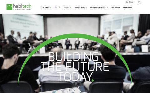 Screenshot of Home Page habitech.it - Habitech - Habitech - captured Nov. 4, 2018