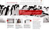 New Screenshot Bain & Company Home Page