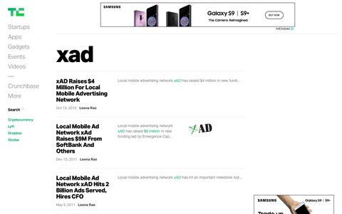 """Search results for """"xad"""" 