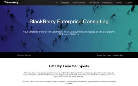 BlackBerry Enterprise Consulting - United States
