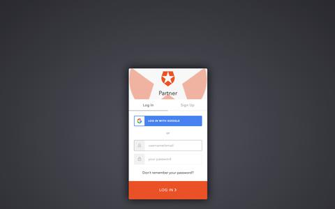 Screenshot of Login Page auth0.com - Sign In with Auth0 - captured June 23, 2019