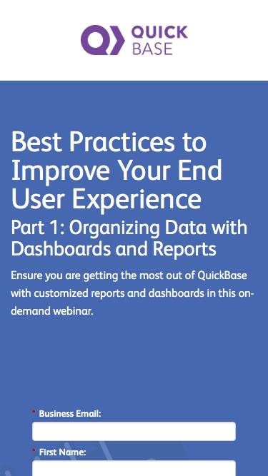 Best Practices to Improve Your End User Experience
