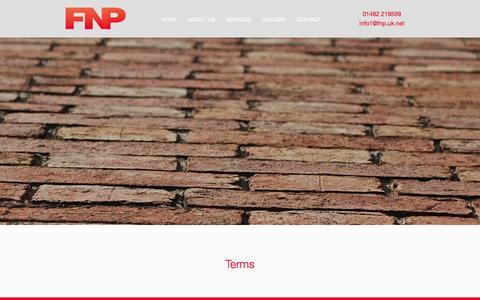 Screenshot of Terms Page fnpltd.co.uk - Terms — FNP FNP - captured Oct. 5, 2014