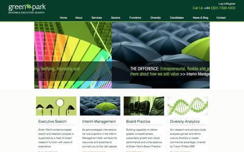 Green Park | Interim Management & Executive Search