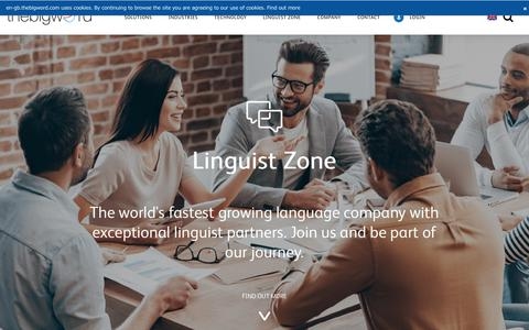 Linguist Zone - thebigword