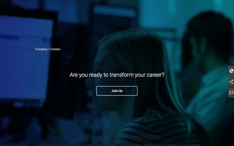 Screenshot of Jobs Page zscaler.com - Join the Best Cloud Security Talent | Zscaler Careers - captured May 23, 2018