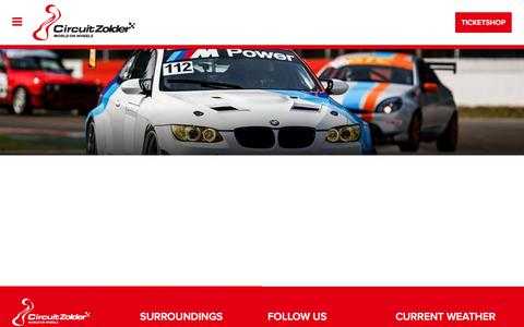 Screenshot of Privacy Page circuit-zolder.be - Circuit Zolder - captured April 17, 2018