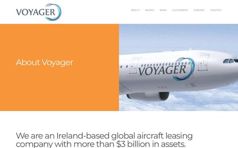 Screenshot of About Page intrepidaviation.com - Voyager Aviation Holdings - captured Sept. 24, 2018