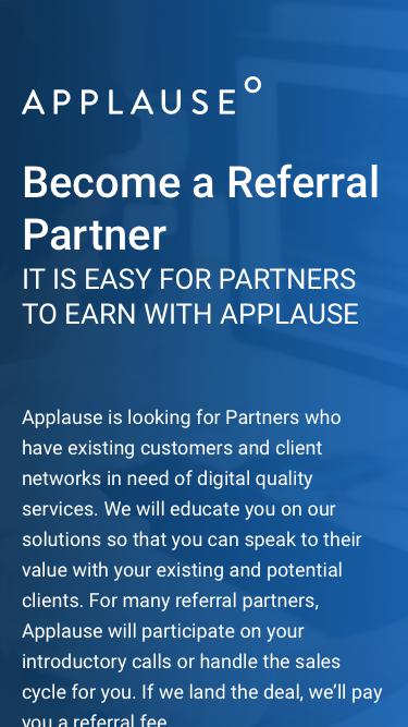 Become an Applause Partner