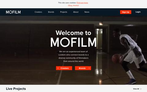 MOFILM Home - MOFILM