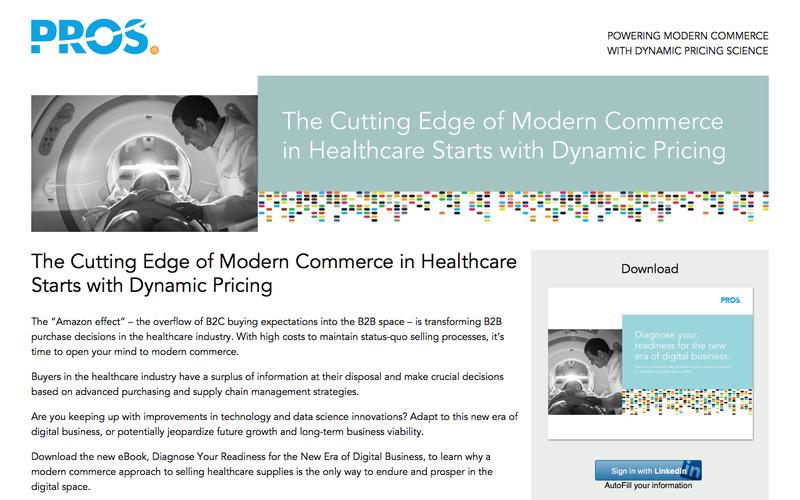 Diagnose Your Readiness for the New Era of Digital Business | PROS Resources | PROS