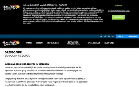 Dresscode - Holland Casino