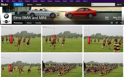 Screenshot of Flickr Page flickr.com - Flickr: Elms BMW and MINI's Photostream - captured Oct. 22, 2014