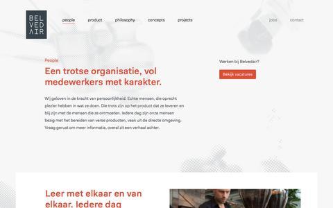 Screenshot of Team Page belvedair.eu - Belvedair — People - captured Oct. 13, 2017