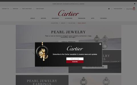 Pearl jewelry collection - fine jewelry - Cartier