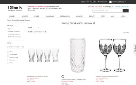 Sale & Clearance Home | Dining & Entertaining | Barware | Dillards.com