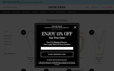 The Bonus Bauble   BaubleBar