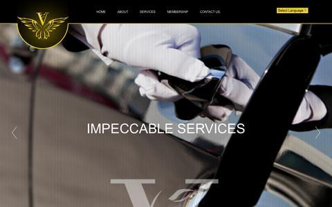 Screenshot of Home Page vipassists.com - V.I.P. Assistance Services - Concierge Services & Lifestyle Management. - captured Nov. 9, 2015