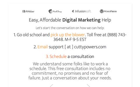 Cutty Powers | a digital marketing agency