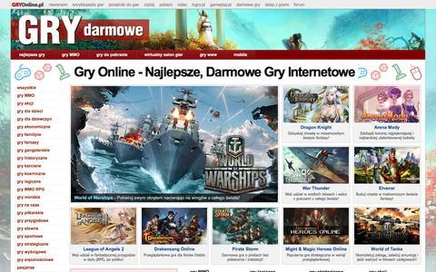 Gry Online - Najlepsze, Darmowe Gry Internetowe