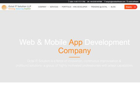 Software Development Company, Mobile App & Web Development Service