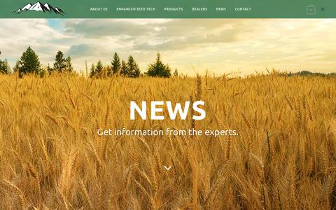 Screenshot of Press Page summitseed.com - Sod News | Summit Seed | Turf Grass - captured Oct. 27, 2017