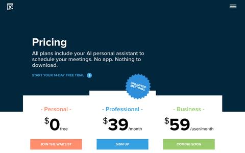 Pricing - New - x.ai