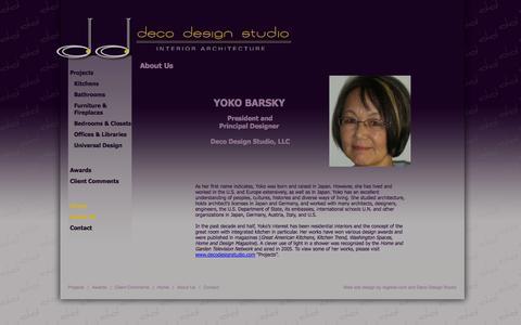 Screenshot of About Page decodesignstudio.net - Deco Design Studio - Contact - captured Oct. 5, 2014