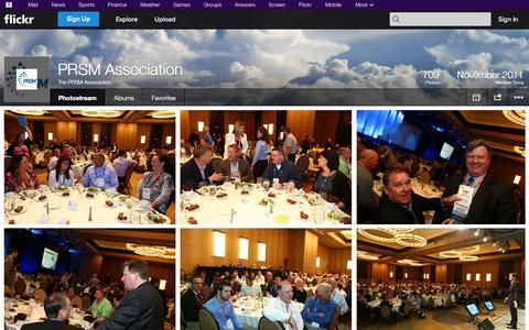 Screenshot of Flickr Page flickr.com - Flickr: The PRSM Association's Photostream - captured Oct. 22, 2014