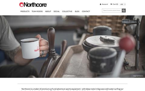 Screenshot of Home Page northcore-europe.com - Northcore Home Page - captured Oct. 22, 2017