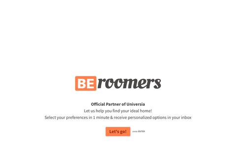 All kinds of rooms, apartments for rent, student halls and homestays - Beroomers