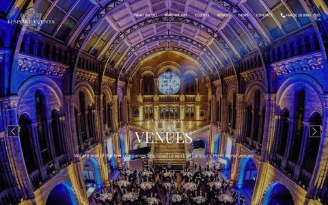 Exclusive Venue Events in London | Bespoke
