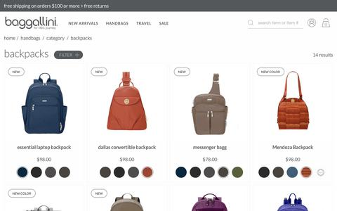 Backpack Handbags & Backpack Purses | baggallini