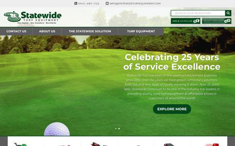 Statewide Turf Equipment | Quality Used Turf Equipment | Established in 1993