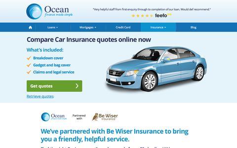 Car Insurance | Ocean Finance®