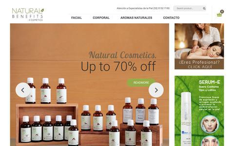 Naturalbenefits – Crema Facial, Crema Corporal, Aceites para Masajes, Aromas Naturales,