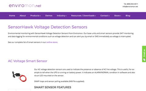 SensorHawk Voltage Detection Sensors - Enviromon