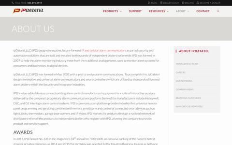 About Us - ipDatatel