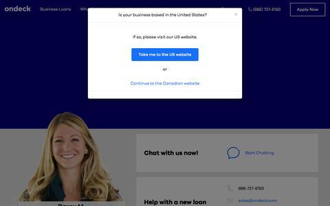 Screenshot of Support Page ondeck.com - Support - captured Sept. 11, 2017