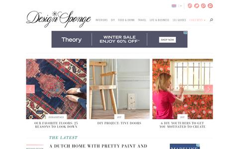 Design*Sponge | Your home for all things Design. Home Tours, DIY Project, City Guides, Shopping Guides, Before & Afters and much more