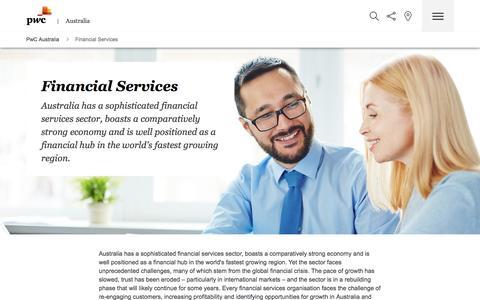 Financial Services | PwC Australia