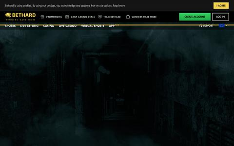Screenshot of Support Page bethard.com - Support - captured Nov. 6, 2017