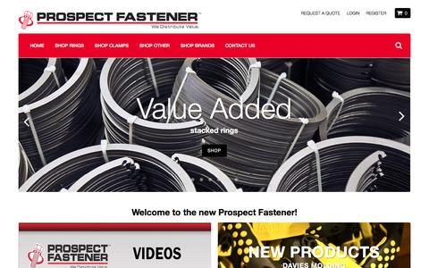Prospect Fastener Corporation - We Distribute Value