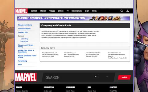 About   About   Marvel.com
