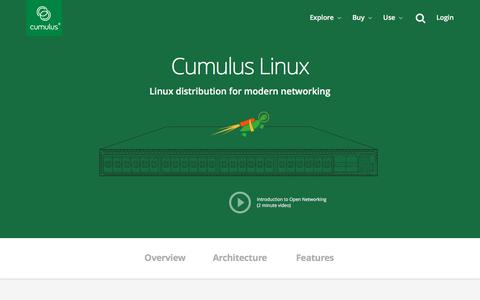 Screenshot of Pricing Page cumulusnetworks.com - Cumulus Linux Overview   Cumulus Networks - captured April 16, 2016