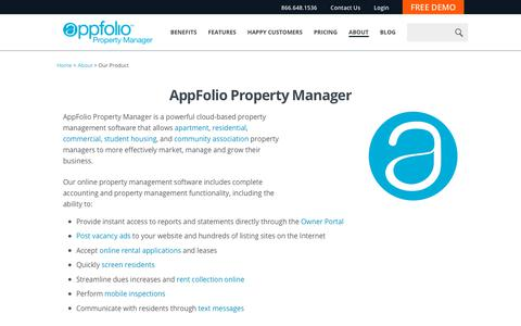 About AppFolio Property Manager