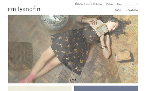 Screenshot of Home Page Login Page emilyandfin.co.uk - Emily and Fin - captured Oct. 2, 2014