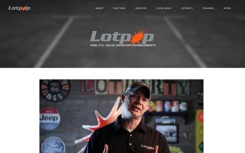 Screenshot of Home Page lotpop.com - Lotpop - Lotpop - captured Sept. 9, 2017
