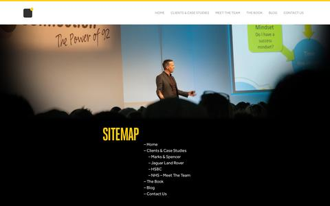 Screenshot of Site Map Page nowshowup.com - Sitemap of Now Show Up - captured Jan. 31, 2016