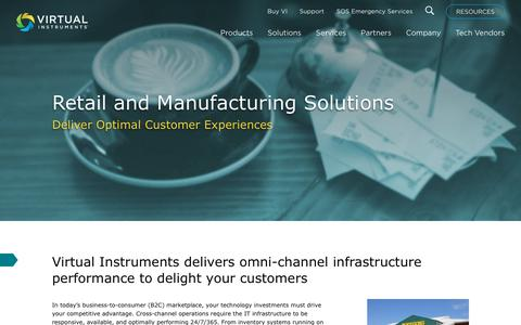 IT Solutions for Retail, Consumer Products and Services